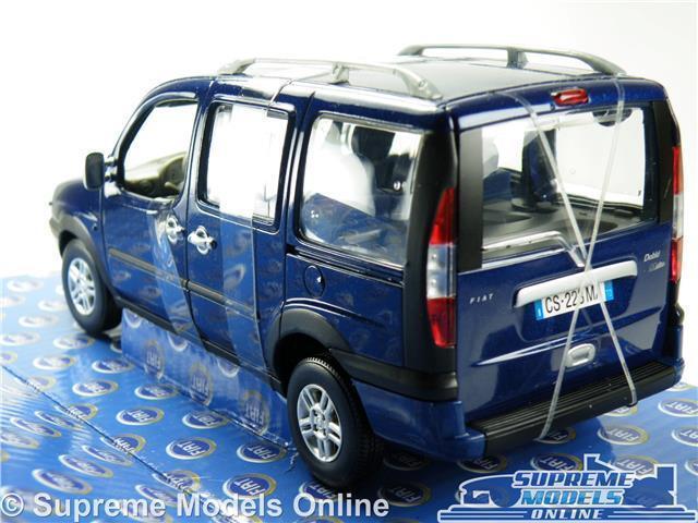 FIAT DOBLO MODEL MODEL MODEL CAR MALIBU 1 24 SCALE blueE NOREV 7710503 OPENING PARTS K8 aad747