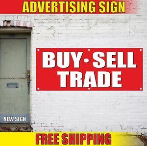Buy Sell Trade Advertising Banner Vinyl Mesh Decal Sign We Finance Pawn Shop Ebay