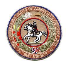 Aufnäher Great Seal Patch CSA Rebel Konföderierte Südstaaten