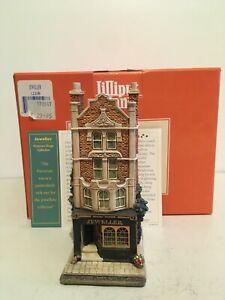 Lilliput-Lane-Jeweller-L2108-1997-Rare-Mint-Original-Box-amp-Deeds