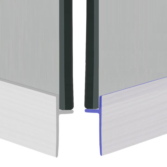 Universal Bath Shower Screen Door Seal Extrusion Strip | Glue Stick | 1M or 2M