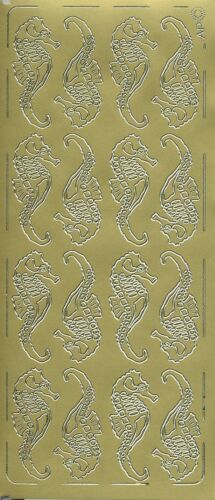 Pickup Outline Stickers Auto-collant Animal Mer Hippocampe Sea horse 076