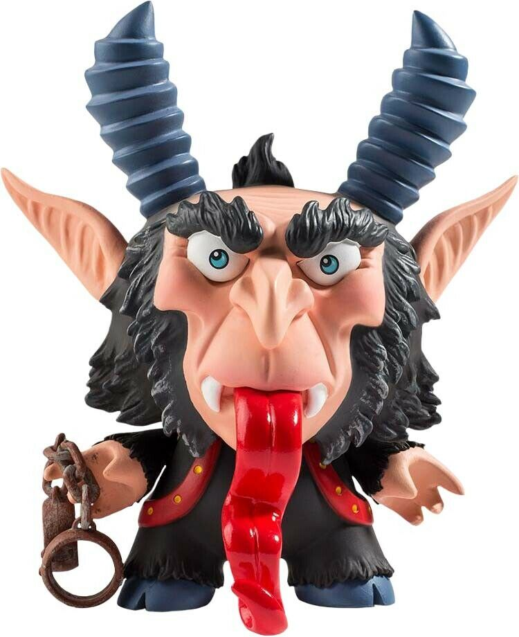 KRAMPUS - The Krampus 5  Dunny Vinyl Figure (Kidrobot)   Scott Tolleson  NEW