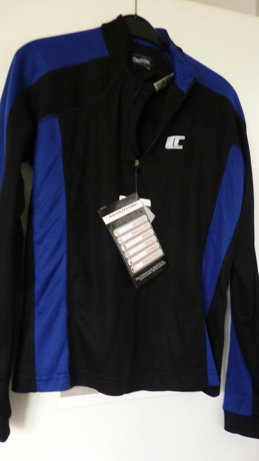 Radler- und Laufshirt mit Wärme-und Feuchtigkeitsaustausch