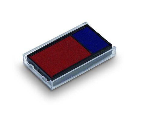 von stempel-fabrik blau//rot Ersatzkissen für Trodat Printy 6//4912