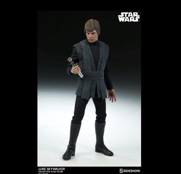 1 6 Star Wars Luke Skywalker Deluxe Figure Sideshow 100190