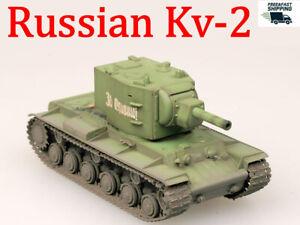 Easy Model 1//72 Russian Army KV-2 Heavy Tank Model With Russian Green #36282