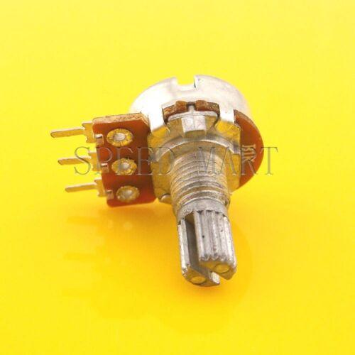 B1K Ohm Linear Taper Rotary Potentiometer Pot 20mm Shaft 3 Pins