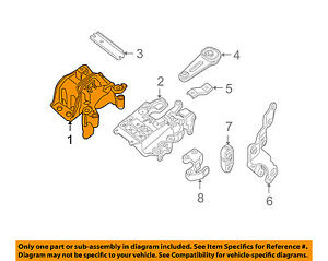 image is loading nissan-oem-07-12-sentra-engine-motor-mount-