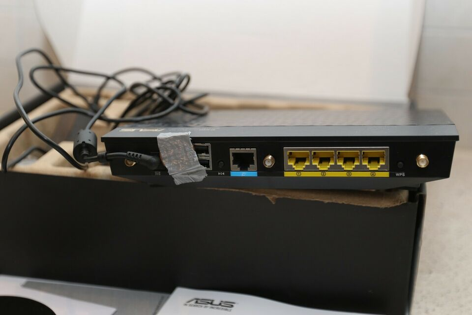 Router, wireless, Asus Wireless AC1750