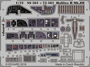 EDUARD-73561-Interior-for-Revell-Kit-Halifax-B-Mk-III-in-1-72