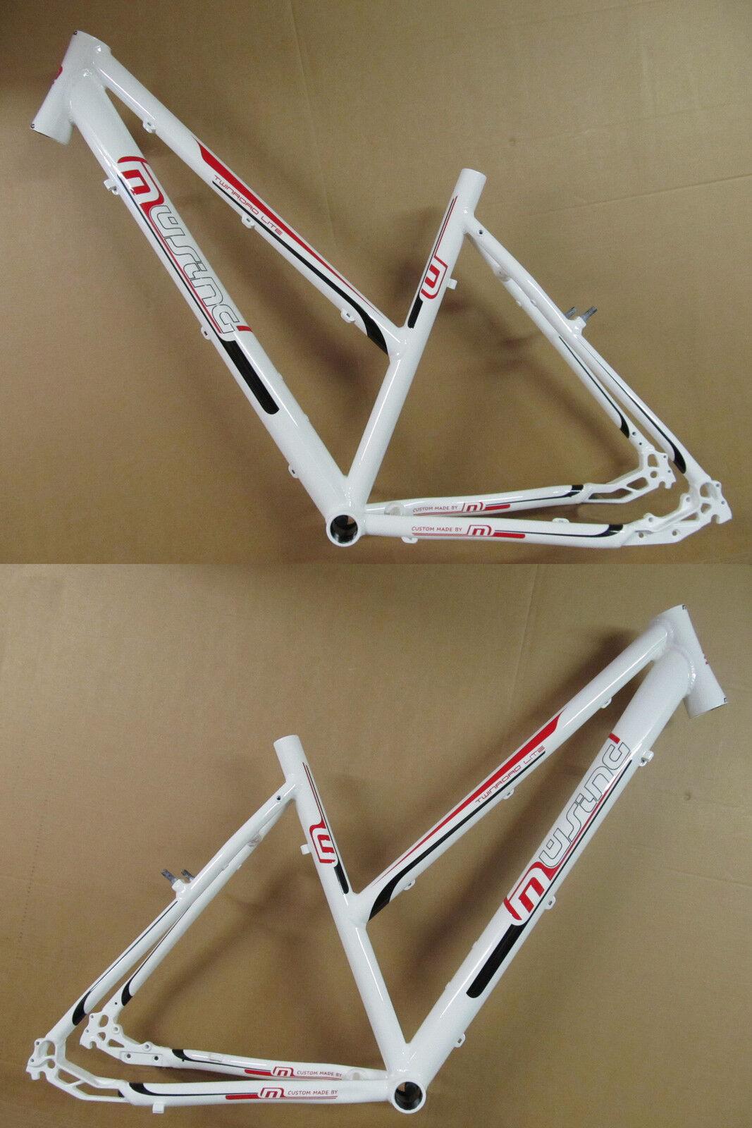 Müsing Twinroad Lite cross Trekking Aluminium Frame New 2018 Ladies 48cm White