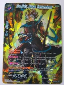 Son-Goku-Saiyan-Transcendence-Dragon-Ball-Super-CCG-NM-M-BT7-129-ISR