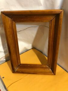 Vintage-Oak-Victorian-Frame-Fits-7-by-10-1-2-Painting