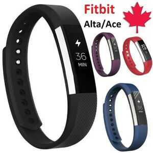 For Fitbit Alta HR Ace - Replacement Silicone Wristband Band Strap Small Large