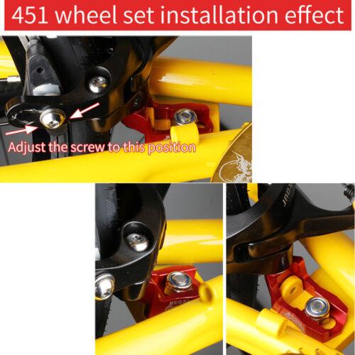 Bike Frame C-Clip Middle Support 406 to 451 Conversion V brake Extension Seat