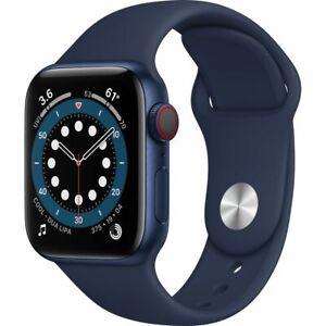 Apple Watch Series 6 40 mm GPS + Cellular (2020 ) Blue Aluminium Case