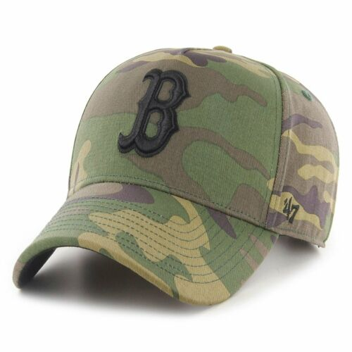 GROVE Boston Red Sox wood camo 47 Brand Relaxed Fit Cap