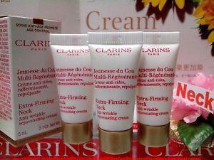 30-OFF-Clarins-Paris-Extra-Firming-NECK-Anti-Wrinkle-Cream-5MLX3-NIB-034-P-FREE
