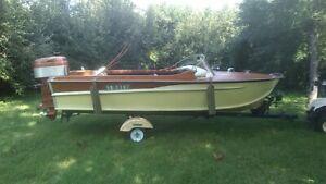 Borum Safari Wooden Boat 1957