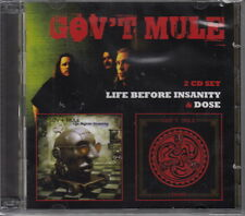 Gov't  Mule / Life Before Insanity & Dose (2 CDs, NEU!)