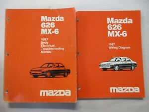 image is loading 1997-mazda-626-mx-6-body-electrical-troubleshooting-