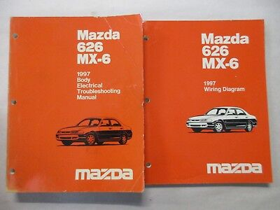 1997 mazda mx6 wiring schematic 1997 mazda 626 mx 6 body electrical troubleshooting   wiring  1997 mazda 626 mx 6 body electrical