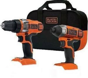 Black-amp-Decker-BDCD220IA-1-20-Volt-Lithium-Ion-Drill-and-Impact-Driver-Kit-NEW