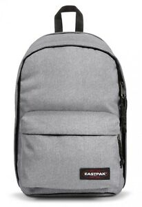 Charmant Eastpak Back To Work Sac à Dos Cartable Ordinateur Portable Sac Sac Sunday Grey Gris-afficher Le Titre D'origine