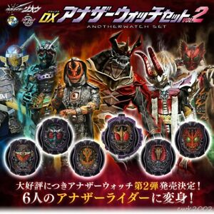 Details about P Bandai Kamen Rider Ridewatch DX ANOTHERWATCH Set Vol 2 for  Zio Belt