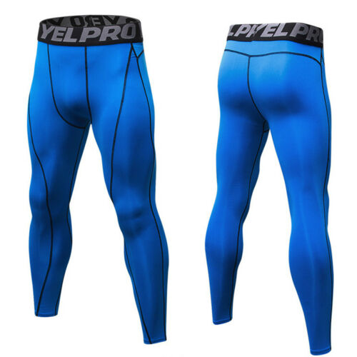 Men/'s Athletic Compression Tights Running Basketball Spandex Workout Base Layers