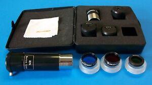 Celestron-10-pc-Accessory-Kit-For-Telescope-Eyepiece-Filter-Case-FREE-Barlow