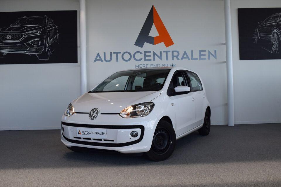 VW Up! 1,0 60 Style Up! BMT Benzin modelår 2016 km 49000 Hvid