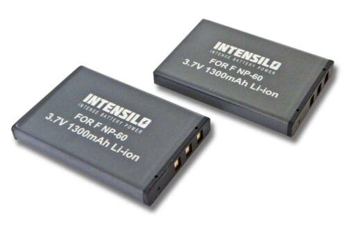 Batería 2x intensilo 1300mAh para SAMSUNG SLB1037 SLB1137 SLB-1037 1137 ACCU