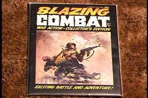 BLAZING-COMBAT-MAGAZINE-1-1965-VF-NM-VERY-RARE-WARREN-FRAZETTA