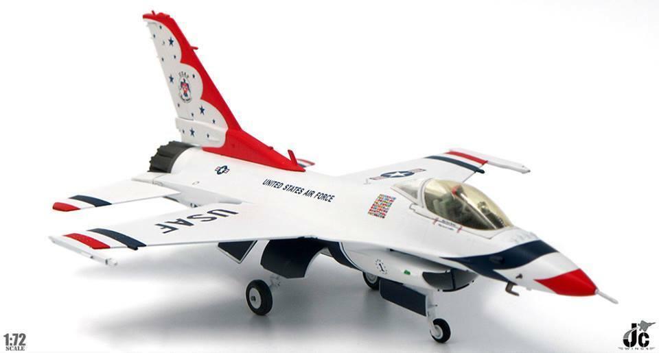 JC 1 72 F-16C Fighting Falcon Usaf Thunderbirds 70TH ANNIVERSARY EDITION 2017