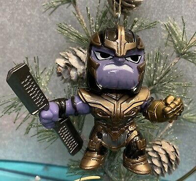 "Thanos Marvel/'s Avengers Custom Holiday Christmas Tree Ornament Figurine 4/"" NEW"