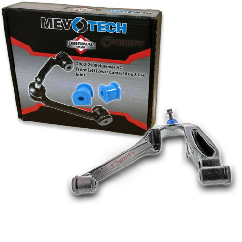 st Mevotech Front Left Lower Control Arm /& Ball Joint for 2003-2009 Hummer H2