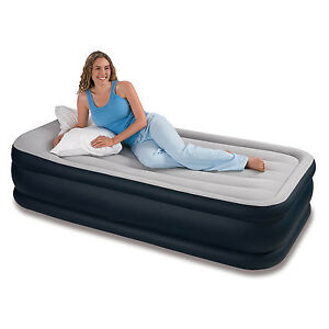 INFLATABLE-HIGH-RAISED-SINGLE-AIR-BED-MATTRESS-AIRBED-W-BUILT-IN-ELECTRIC-PUMP