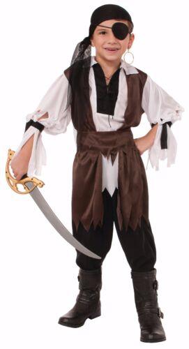 Child Caribbean Pirate Swashbuckler Buccaneer Costume