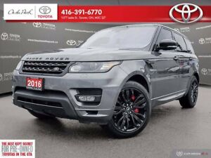 2016 Land Rover Range Rover Sport 4WD V6 HST LE Great Condition Best Price !