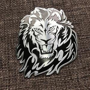 3D-Grand-Personality-Loewe-Logo-Auto-Aufkleber-Metall-Badge-Emblem-Tail-Neu