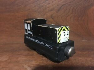Details About Thomas Friends Wooden Railway Train Mavis Engine 1994 Flat Magnets Vintage Htf