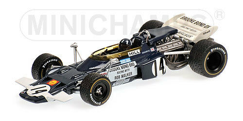 Lotus Ford 72  14 G.Hill   GP Mexico  1970 (Min. 1 43   400 700014)