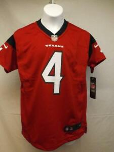 badf1aa38 New Deshaun Watson #4 Houston Texans YOUTH Sizes S-M-L-XL Red Nike ...
