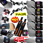 Gym Weight Lifting Wrist Wraps Bandage power Hand Support Straps Training pair