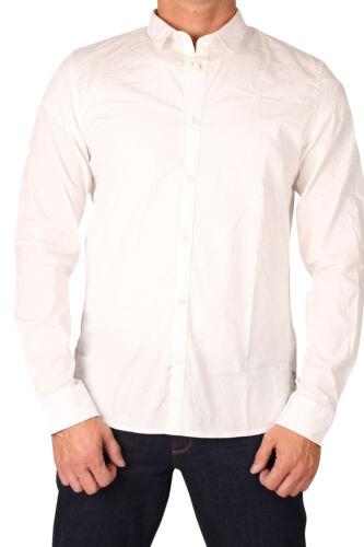 Garcia H51229-50 Herren Baumwoll Hemd langarm weiß