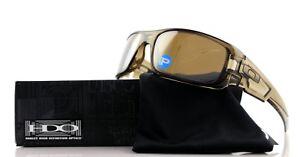 e0e39c24a5 Image is loading POLARIZED-OAKLEY-CRANKSHAFT-Brown-Smoke-Tungsten-Iridium -Sunglasses-