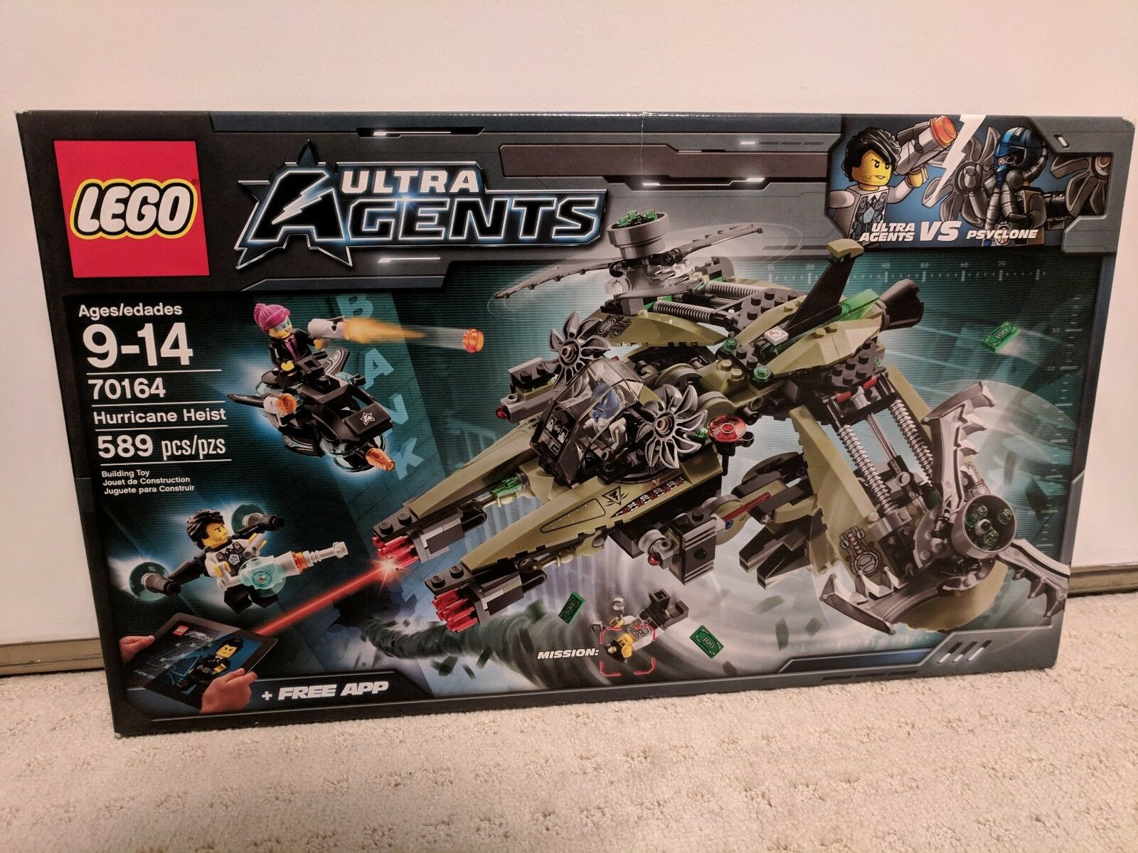 Lego 70164 70164 70164 Ultra Agents Hurricane Heist 76f95e