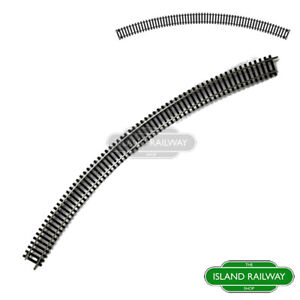 Hornby-R8262-Fourth-Radius-Double-Curve-Track-Pieces-Single-OO-Gauge-1-76-Scale